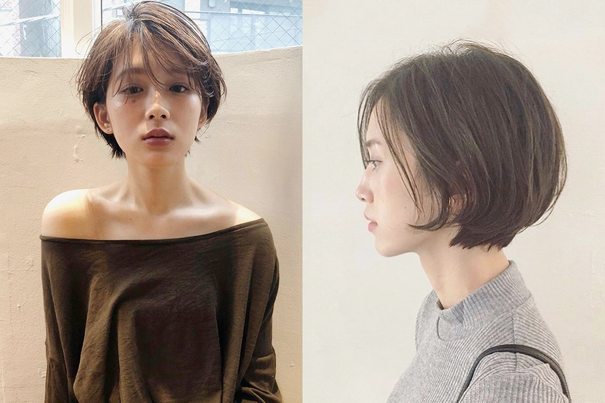 face shape short hair depends japanese hairstyle