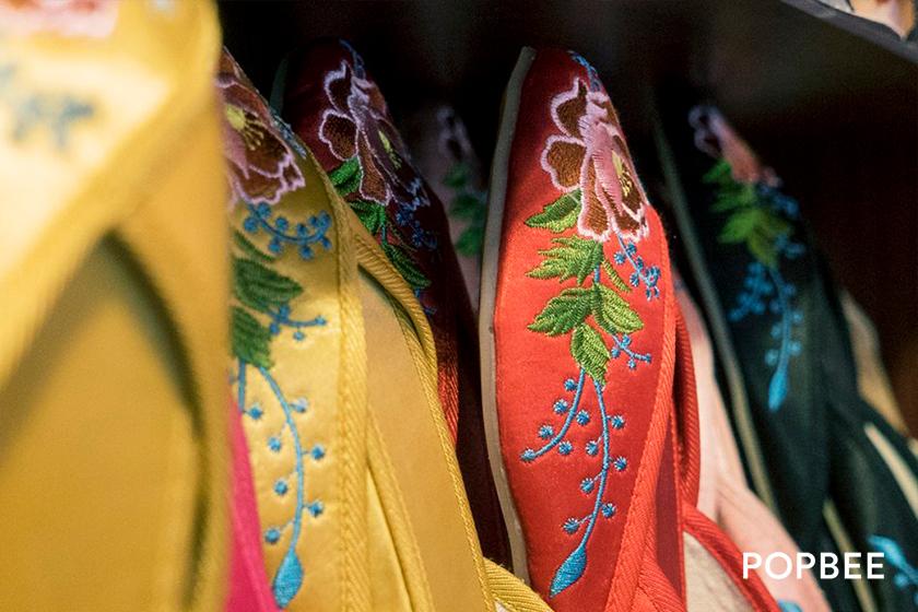 先達商店 Sindart Embroidered Shoes Store in Hong Kong Mong Kok