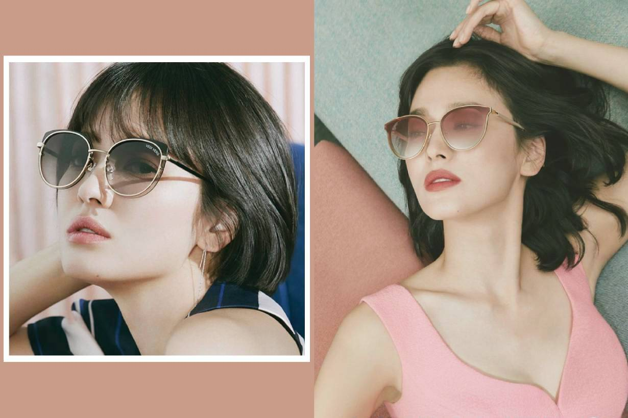 Song Hye Kyo VEDI VERO sunglasses editorial advertisement campaign sexy style Encounter Park Bo Gum K Pop Korean Idols celebrities actress