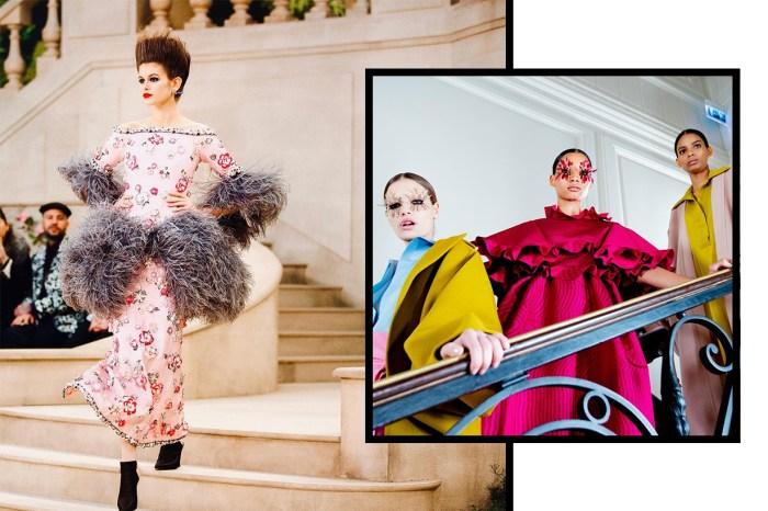 #SS19 Couture:原來在高訂時裝週上,也能嗅到美妝新趨勢!