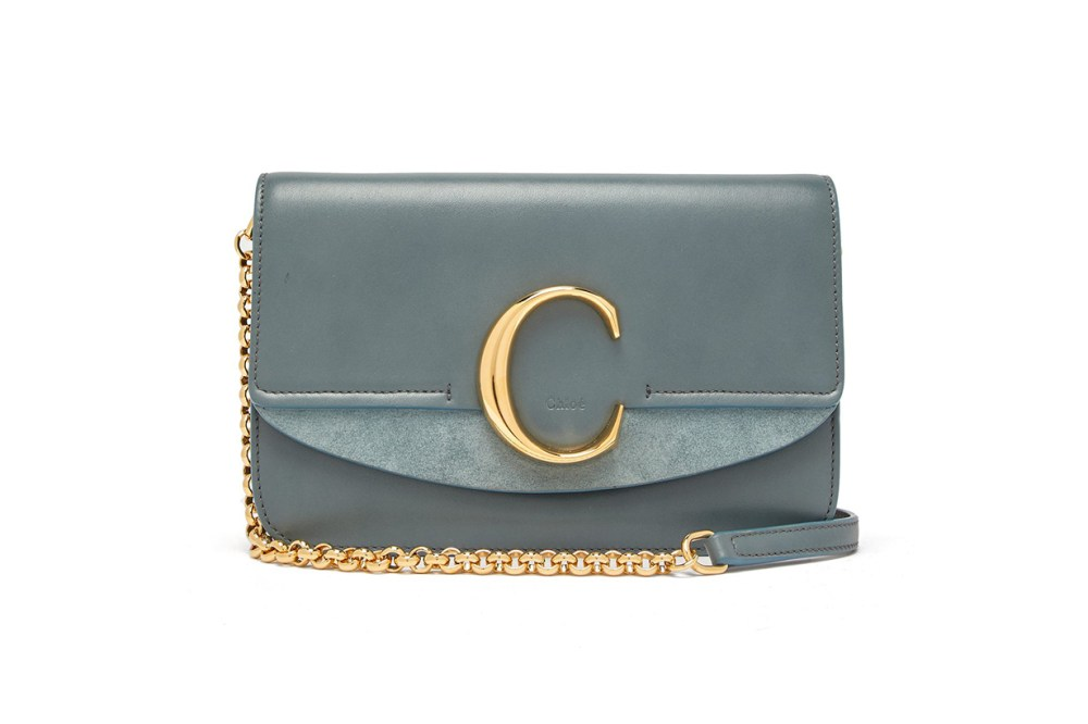 The C leather shoulder bag