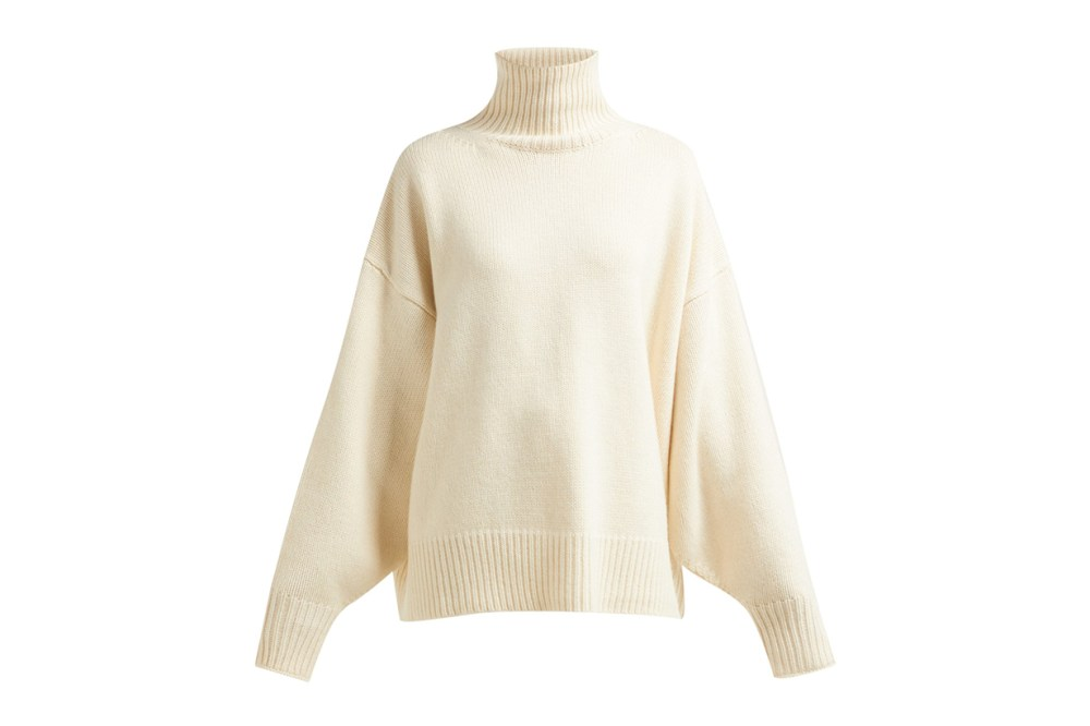 The Row Pheliana Roll-neck Cashmere Sweater