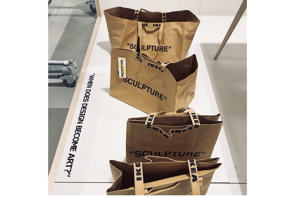 off-white ikea collabration price release