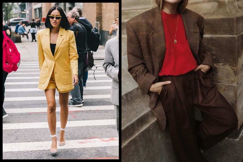 Suit Blazer Outfits Street Style