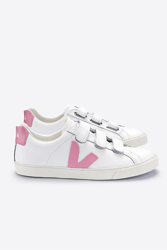 veja white pink sneakers  Meghan Markle