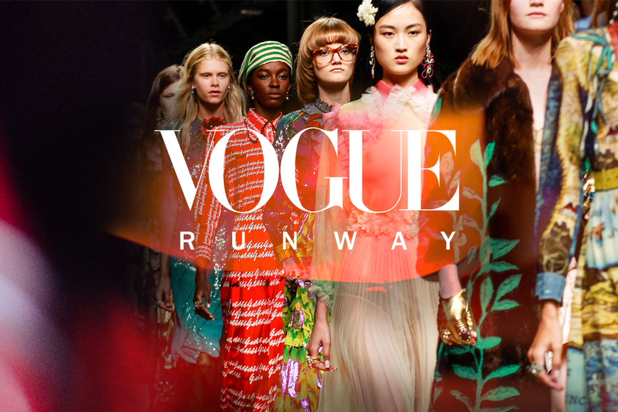 Vogue Runway Is Charging Some Brands to Post Their Collection Images