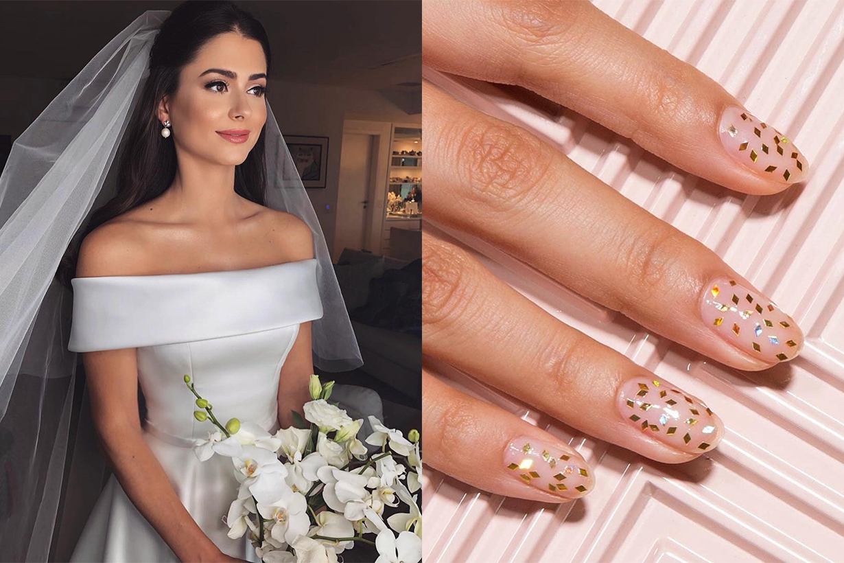 wedding nails 2