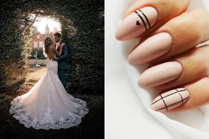 婚禮指彩不是只有粉紅色!這 9 種指彩色調,讓妳成為最美的新娘!