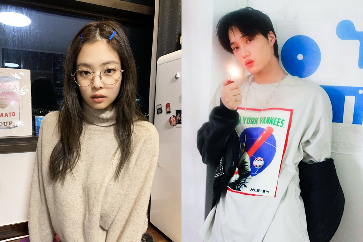 BLACKPINK Jennie EXO Kai Dating Rumours confirmed Dispatch 2019 Couple YG SM Entertainment K Pop Korean Idols celebrities singers couples
