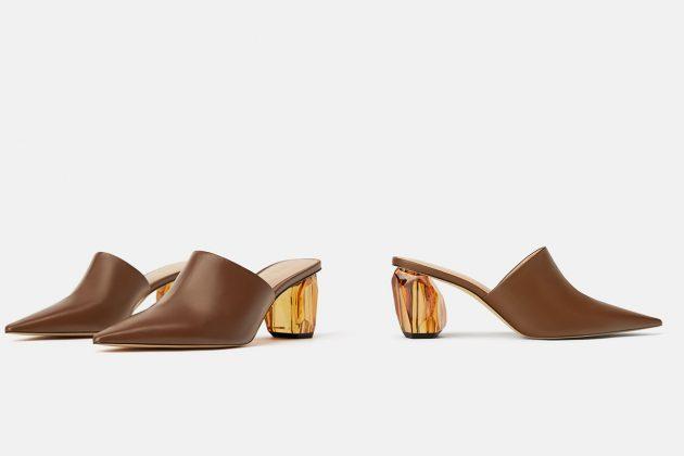 Zara、Mango、ASOS mules shoes 2019