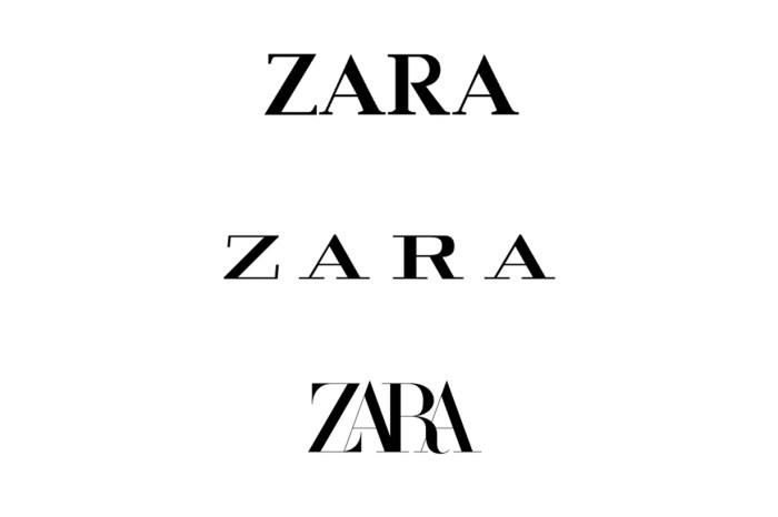 Zara 正式啟用全新 Logo!但你知道,在這之前還有最元老級的版本嗎?