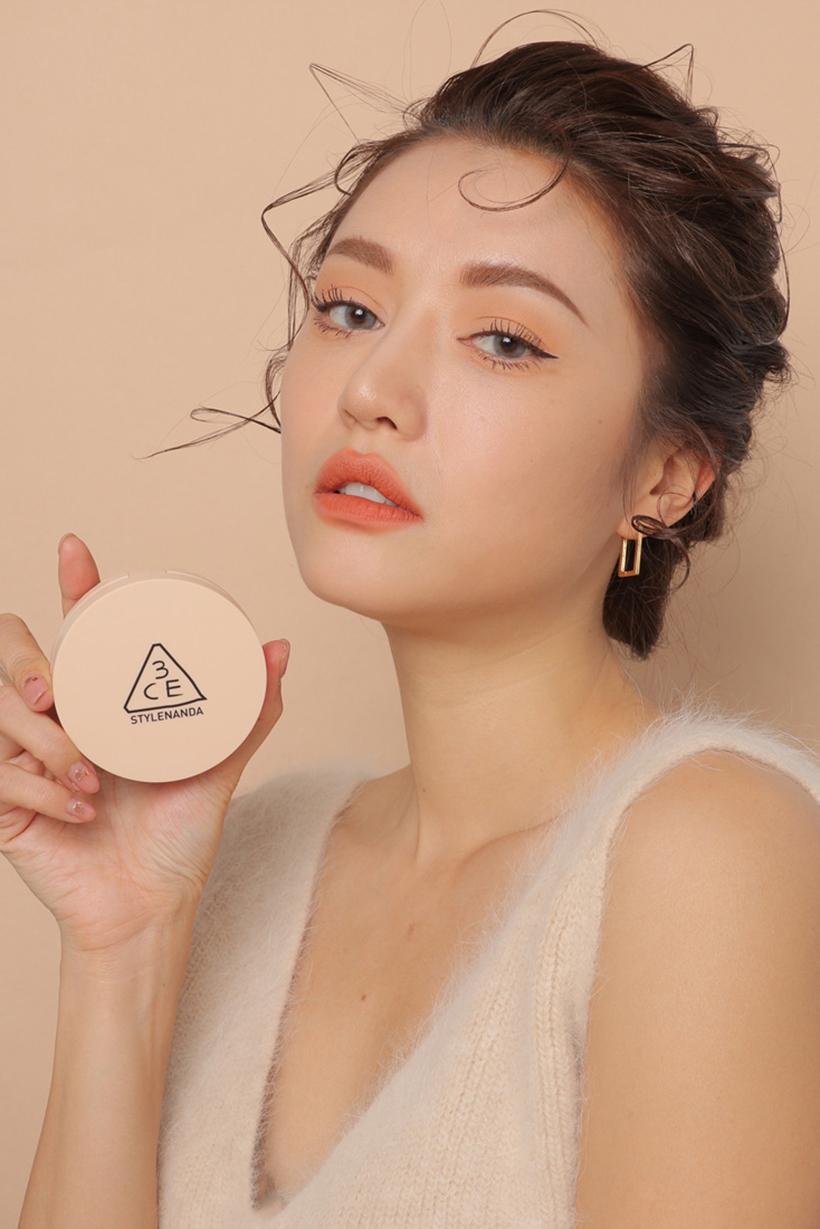 3CE mesh foundation makeup 2019 ss