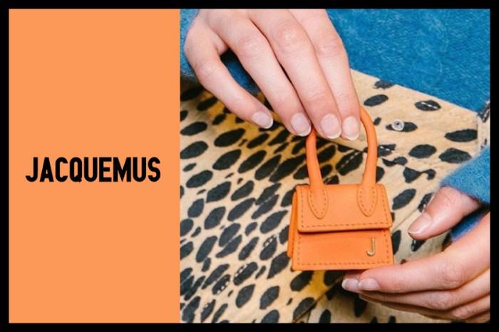 #PFW:沒有最小,只要更小!Jacquemus,你真的肯定這些是手袋?
