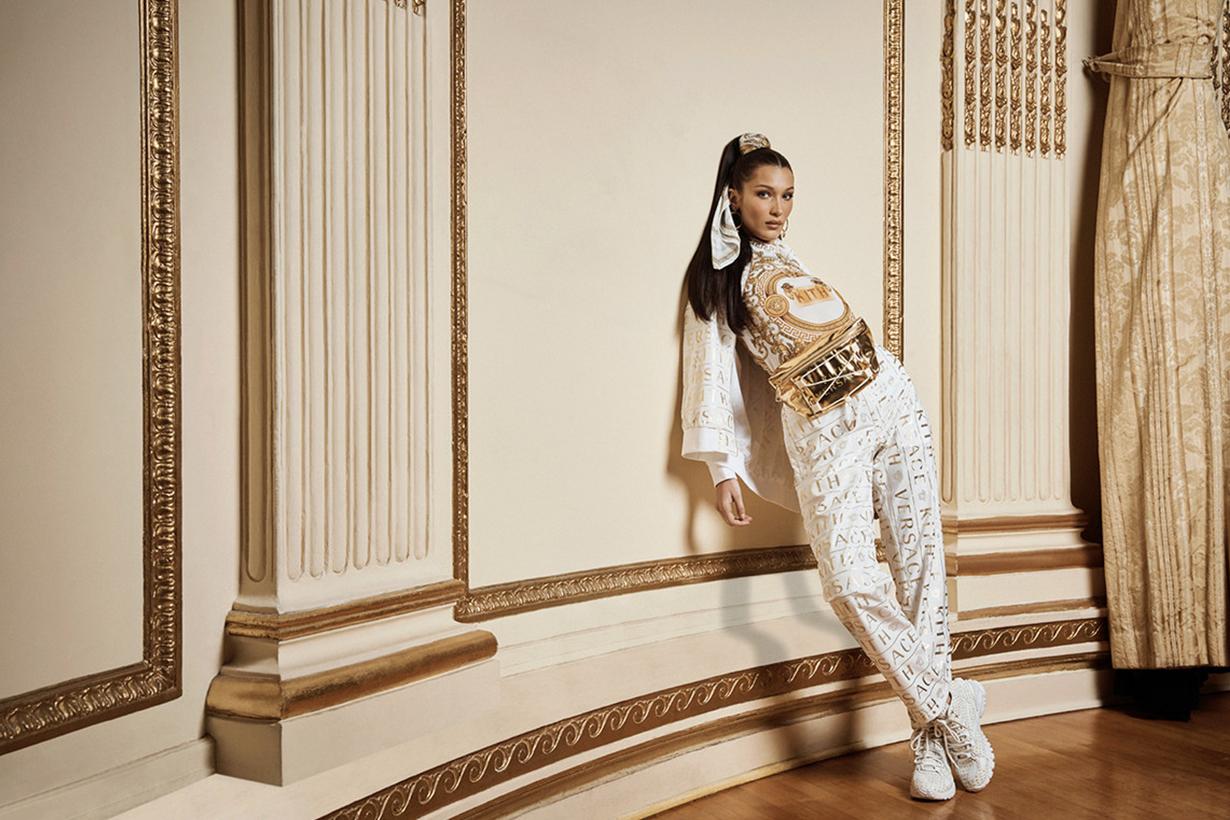 Bella Hadid KITH x Versace new Campaign