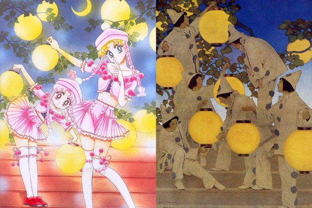 Sailor Moon Image from Classic Famous painting Movie