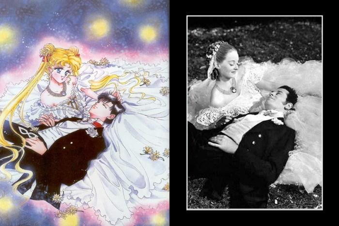 原來《美少女戰士》中許多畫報靈感皆來自這些世界名作!