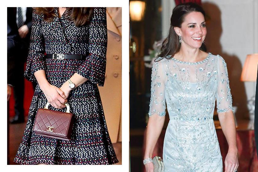 Royal Celebrities Fashion Style Kate Middleton Trends