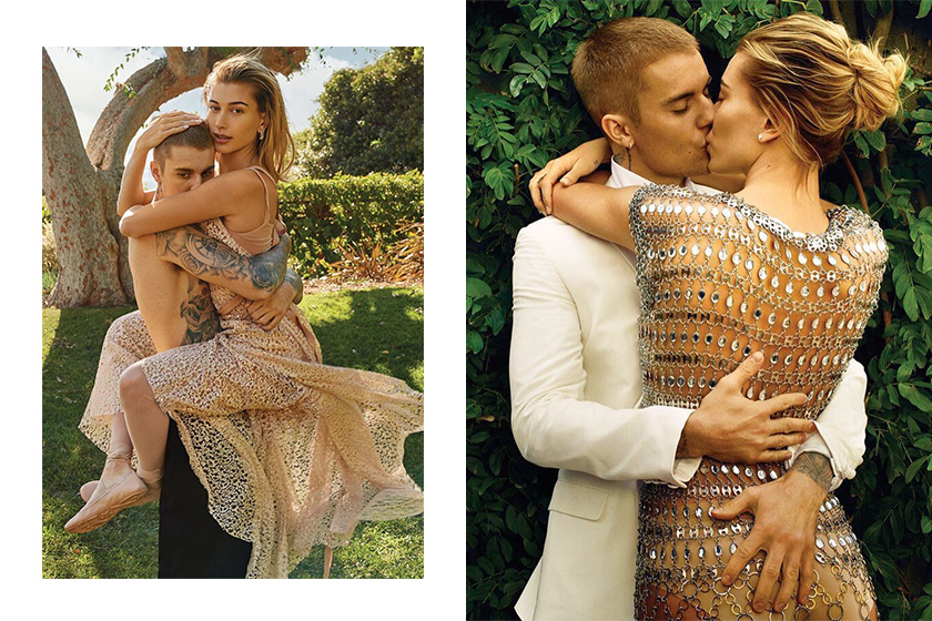 Justin Bieber Hailey Baldwin Vogue Cover Talk About Marriage