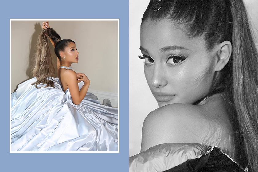 Ariana Grande Instagram The Grammy Award Zac Posen Dress