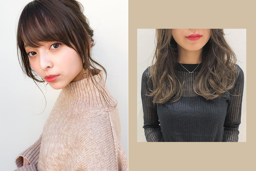 Japanese hair stylist fit face shape Japanese Girl
