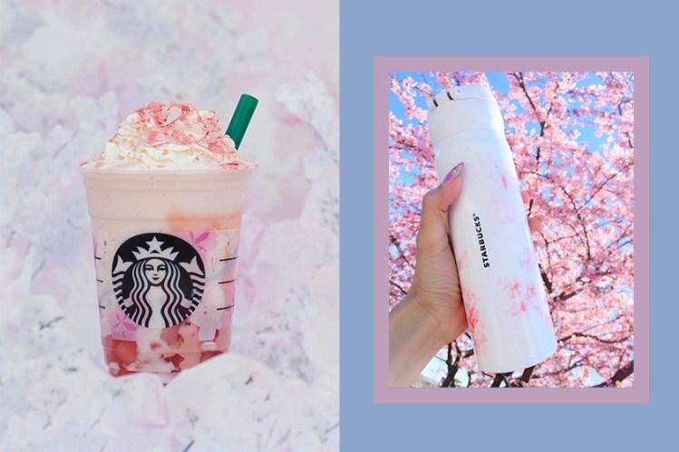 飲品也有櫻花口味!Starbucks 推出全系列櫻花季商品讓日本女生都無法招架!