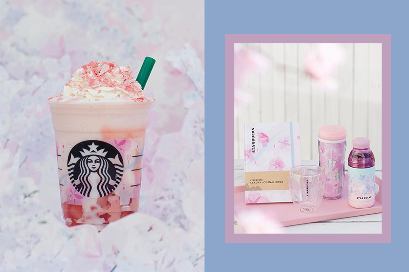 Starbucks Japan 2019 sakura season Special Collection