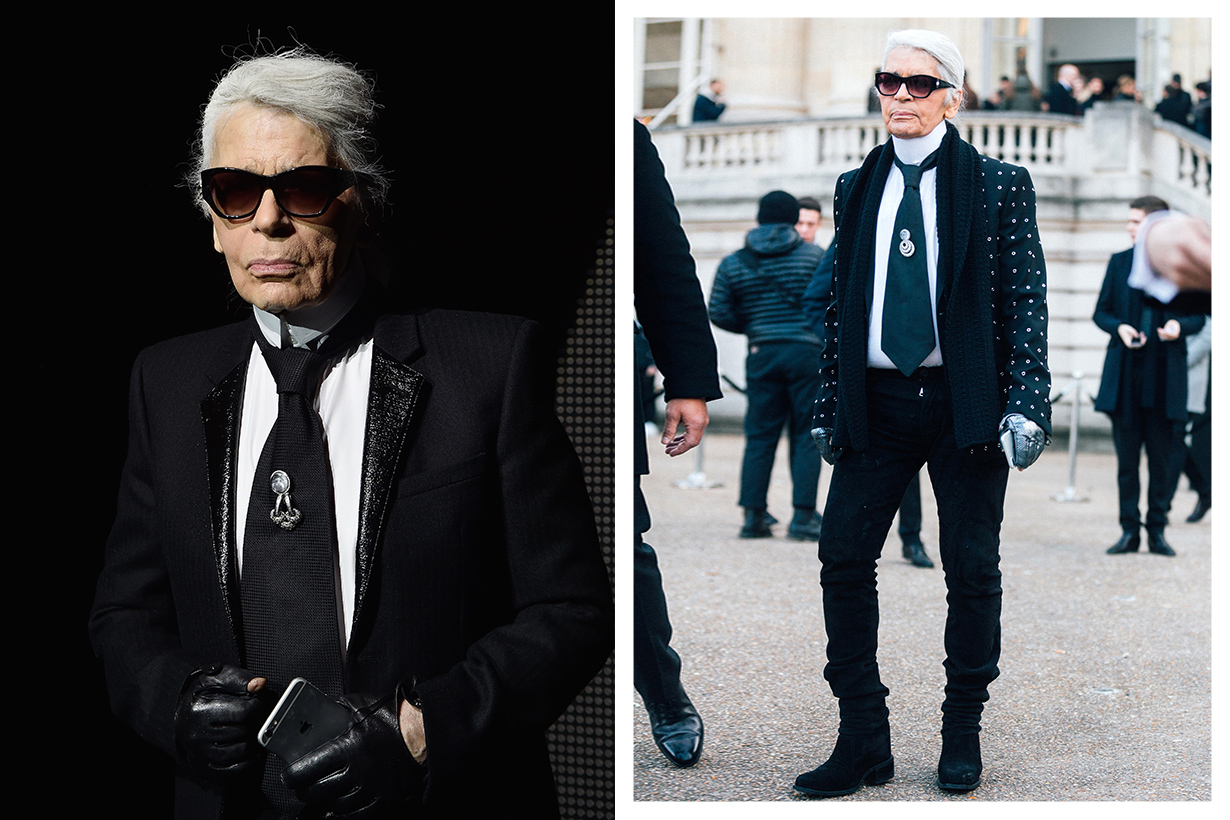 Karl Lagerfeld Lose weight Keep Fit Tips