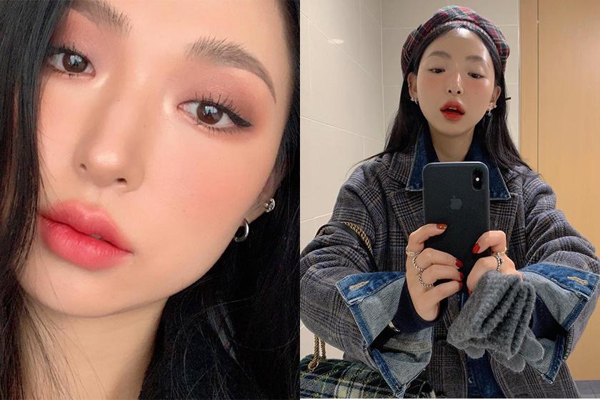 Korean Makeup YouTuber sobong Single eyelid Makeup Tips