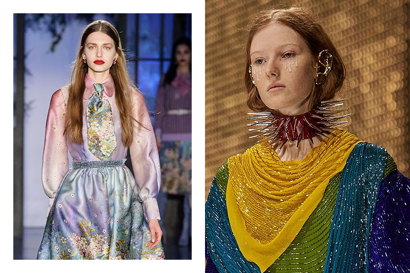 MFW Milan Fashion Week Hairstyle Makeup trend