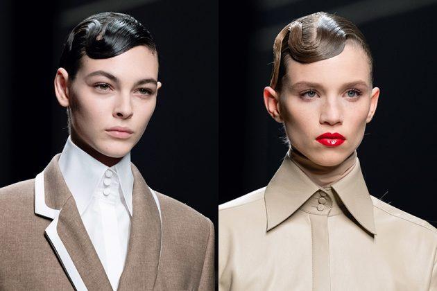 MFW Milan Fashion Week Hairstyle Makeup trend