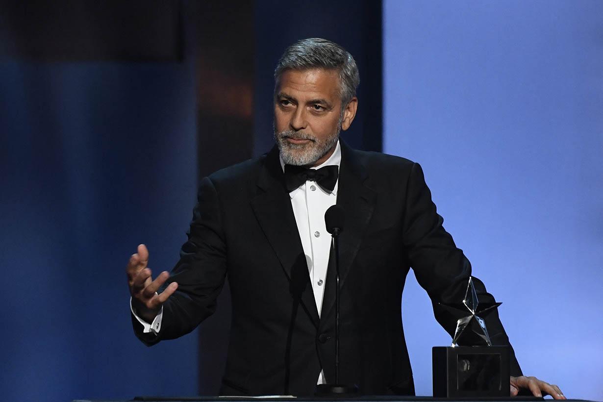 George Clooney defend Meghan Markle