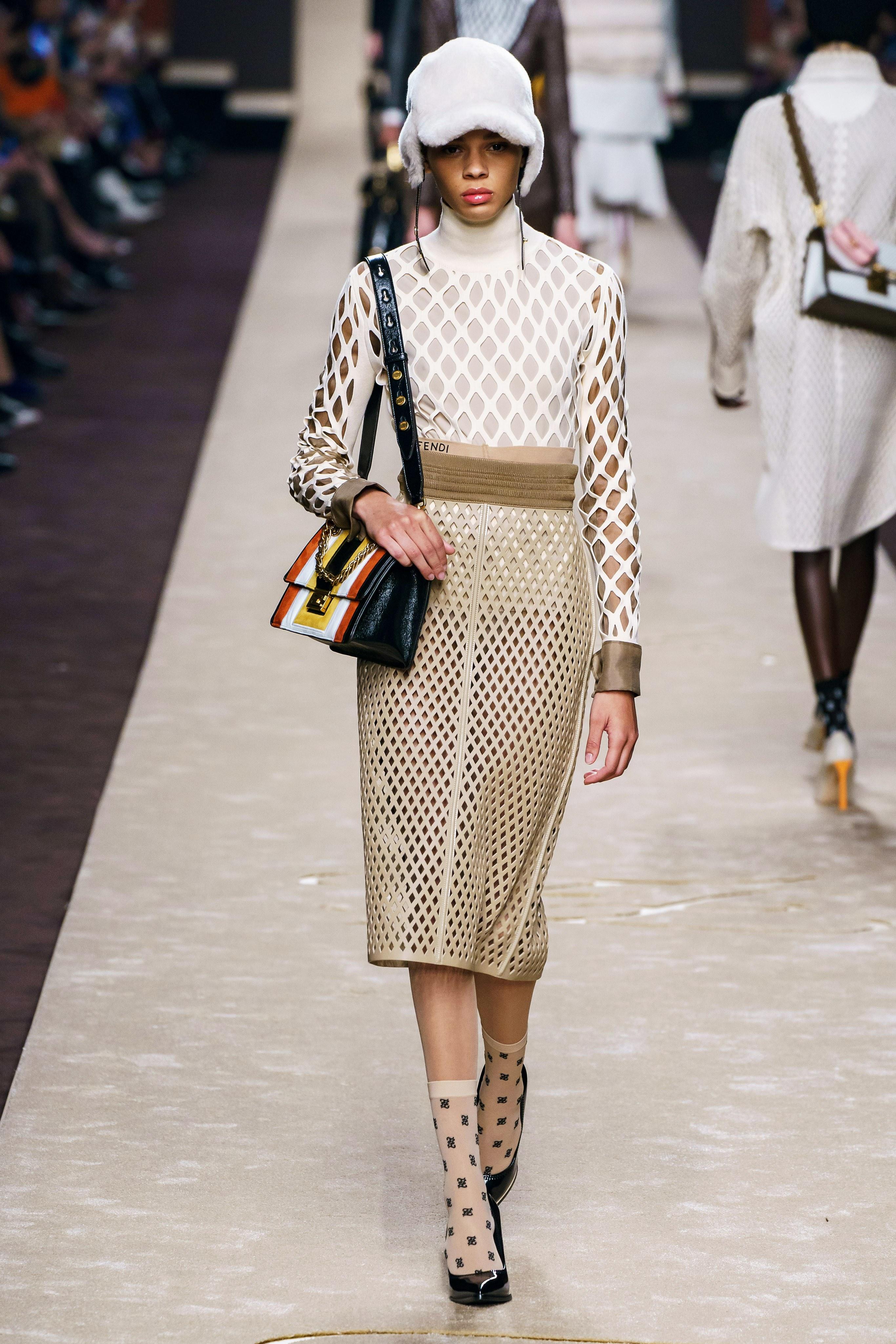 Karl Lagerfeld fendi aw19 milan fashion week