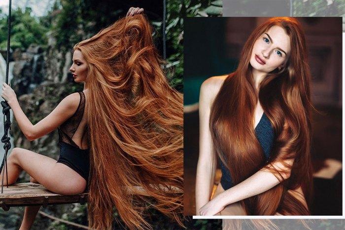 由患「雄性禿頭」逆轉變「長髮公主」,俄羅斯女模分享護髮秘訣