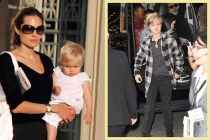 Angelina Jolie 和 Brad Pitt 小孩悄悄長大了,這張臉真的跟爸媽如出一徹啊!