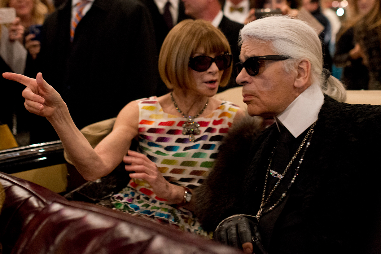 Anna Wintour Remembers Karl Lagerfeld