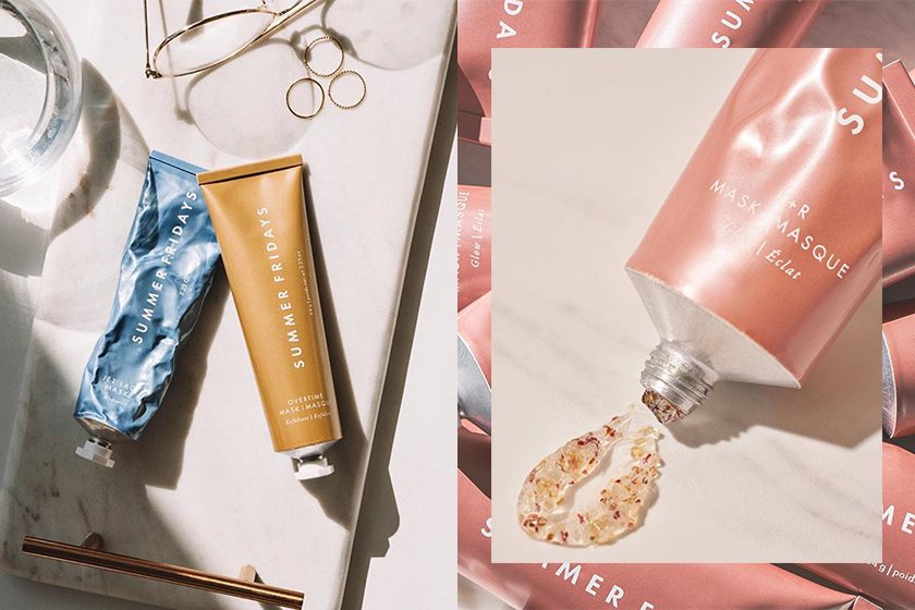 beauty brands instagram summer fridays jet lag mask