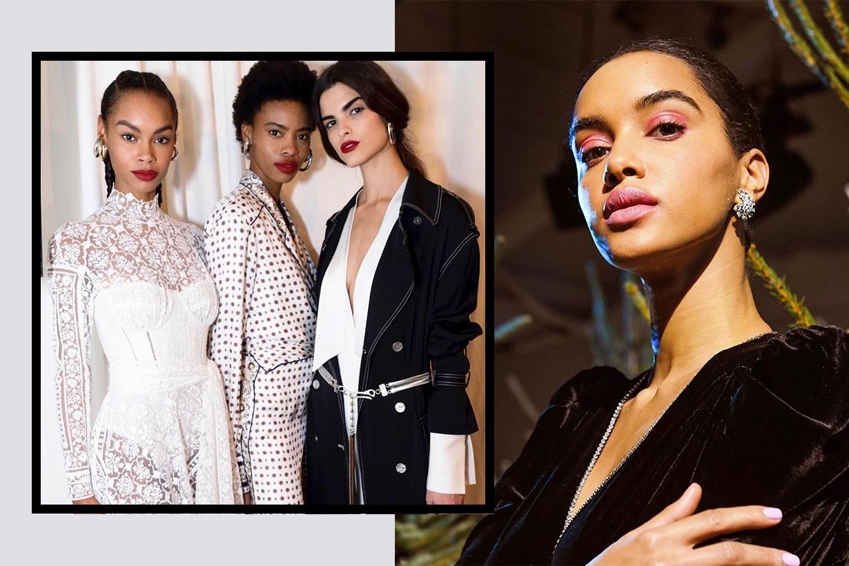 NYFW fall 2019 makeup trends