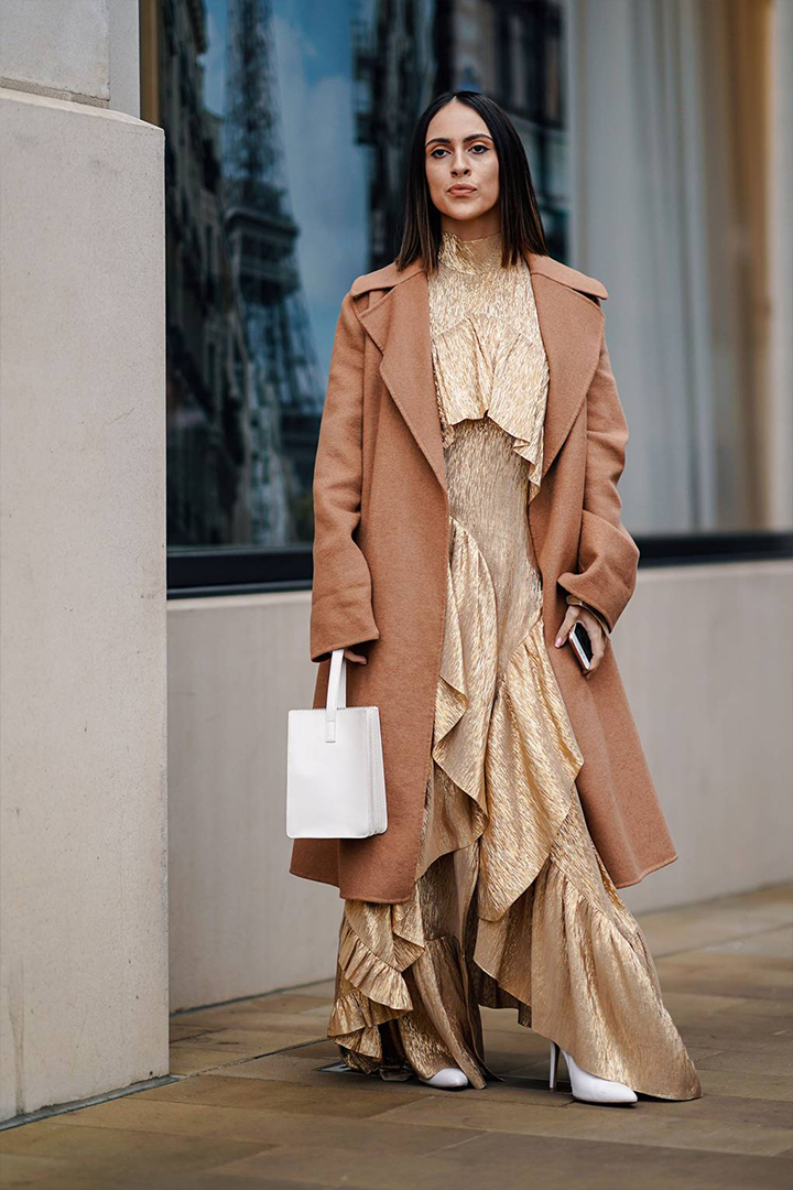 Beige outfit almost everyone wore at London Fashion Week 2019