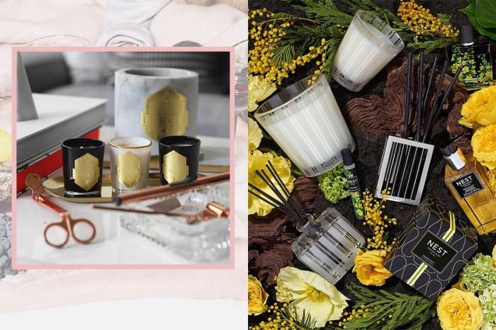 生活在香氛之中:這些香氛蠟燭除了香調之外,更是充滿設計感!