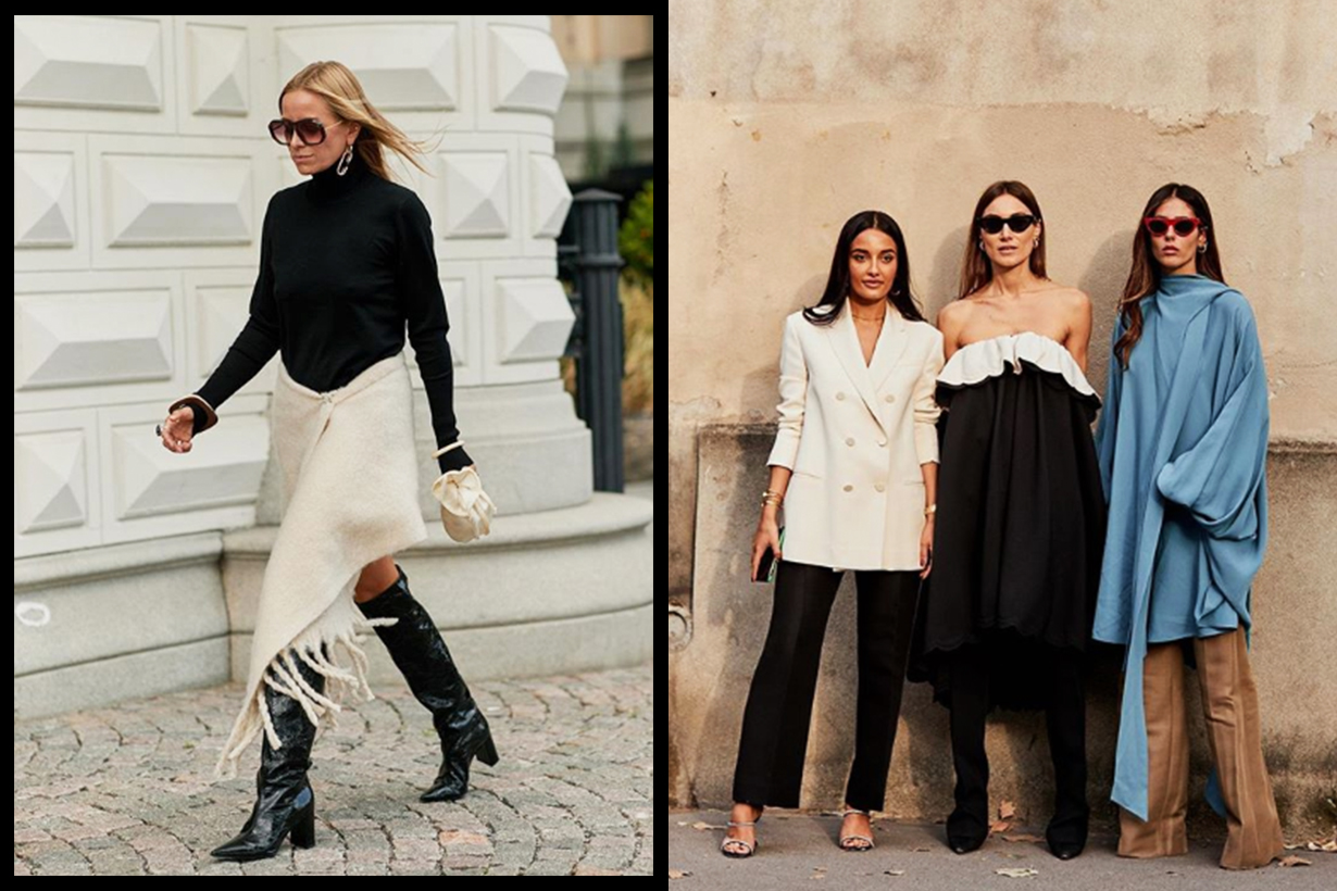 Black and White Colour Trend