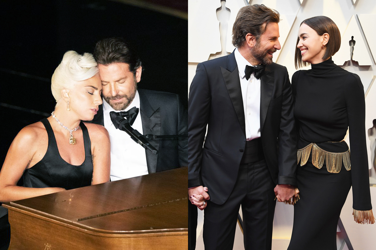 Oscars 2019 Bradley Cooper Lady Gaga  Shallow A Star Is Born Best Original Music Irina Shayk stage performance romance rumours standing ovation