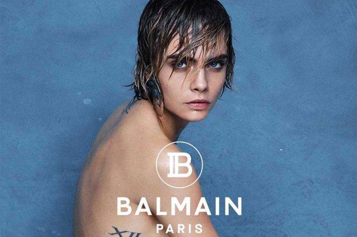 Cara Delevingne 全裸再登 Balmain 廣告,背後意義與「自身經歷」呼應