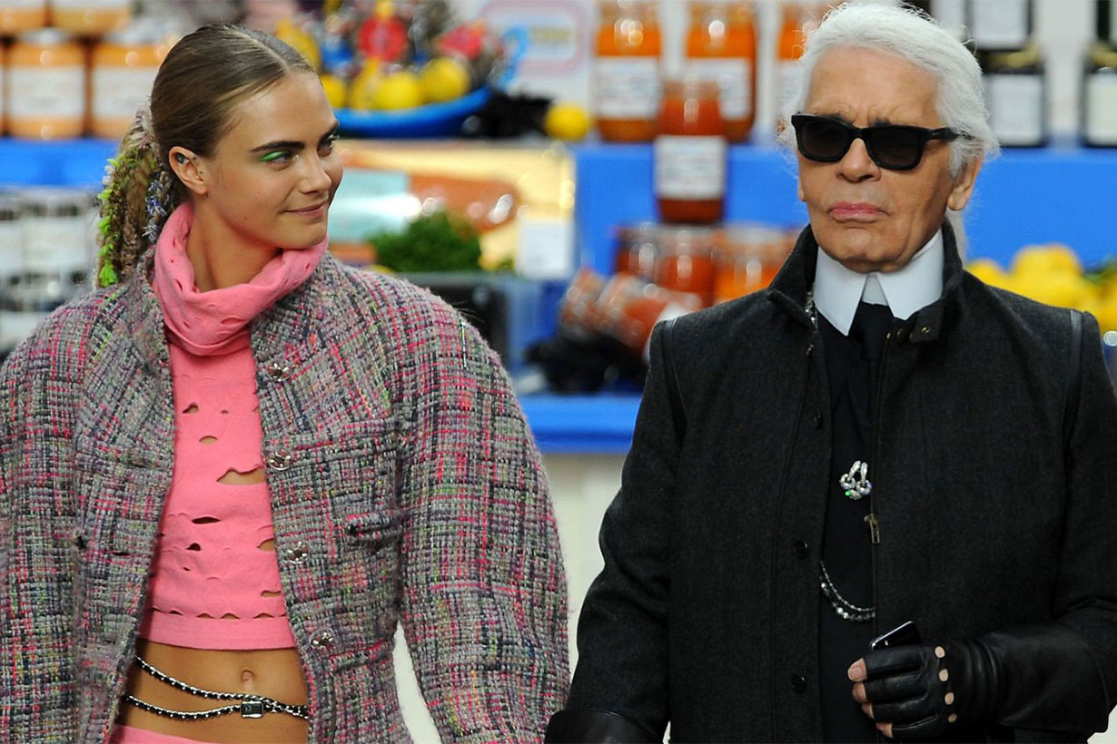 Fashion designers and celebrities pay tribute to Karl Lagerfeld