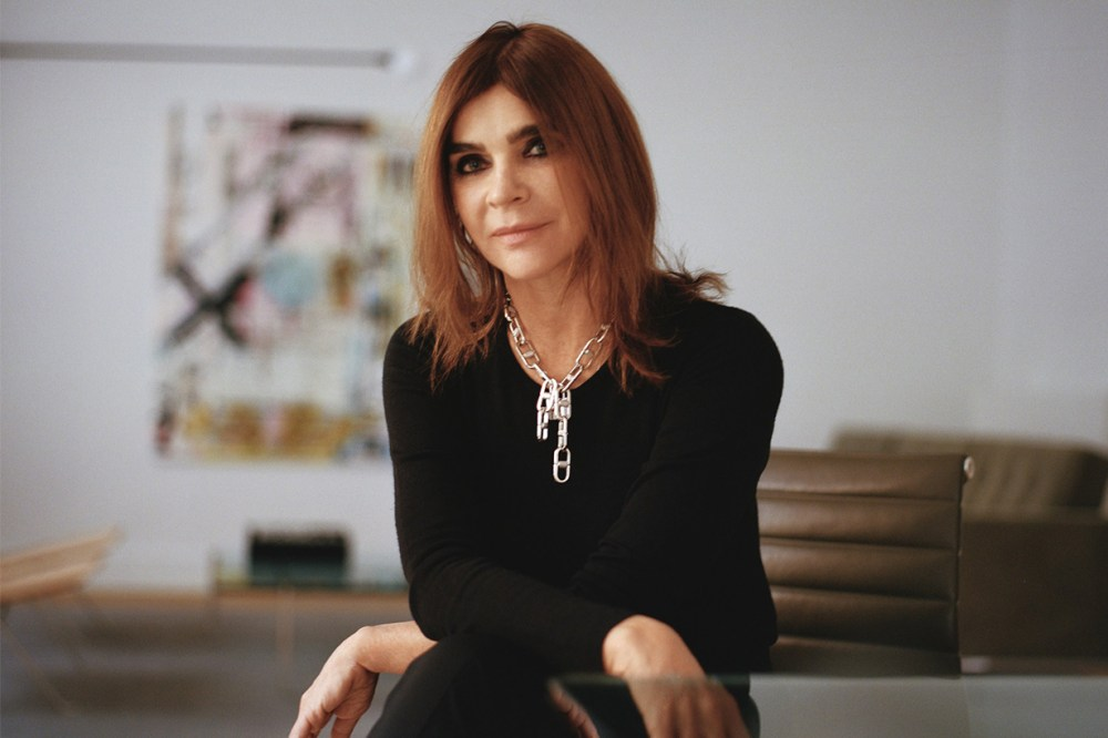 Carine Roitfeld Vogue Paris Editor