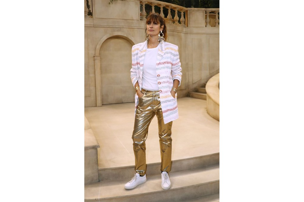 Caroline de Maigret Metallic Pants