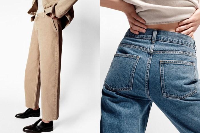就算是牛仔造型也是高級感滿滿,Jeans by COS 一定要入手