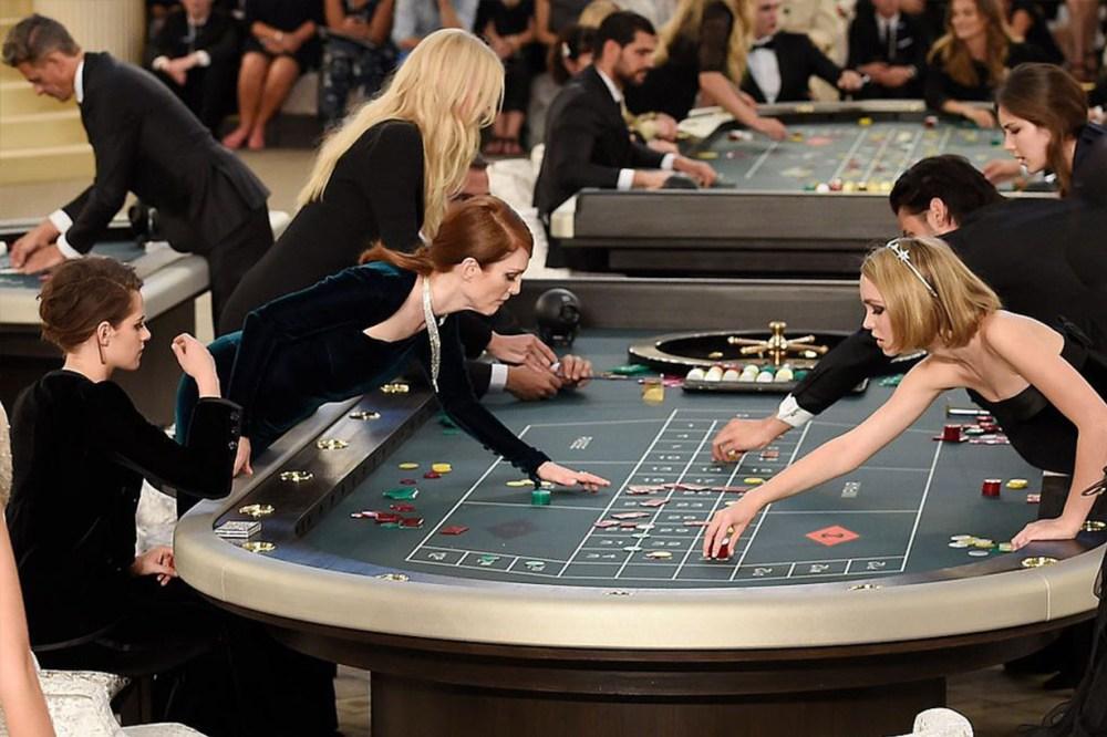 Chanel Casino Runway
