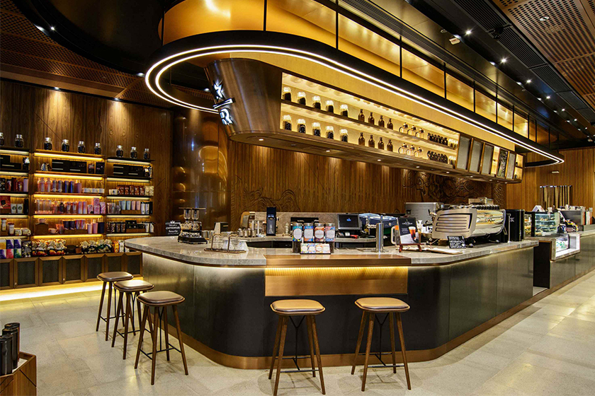 Starbucks Reserve Coffee Experience Bar