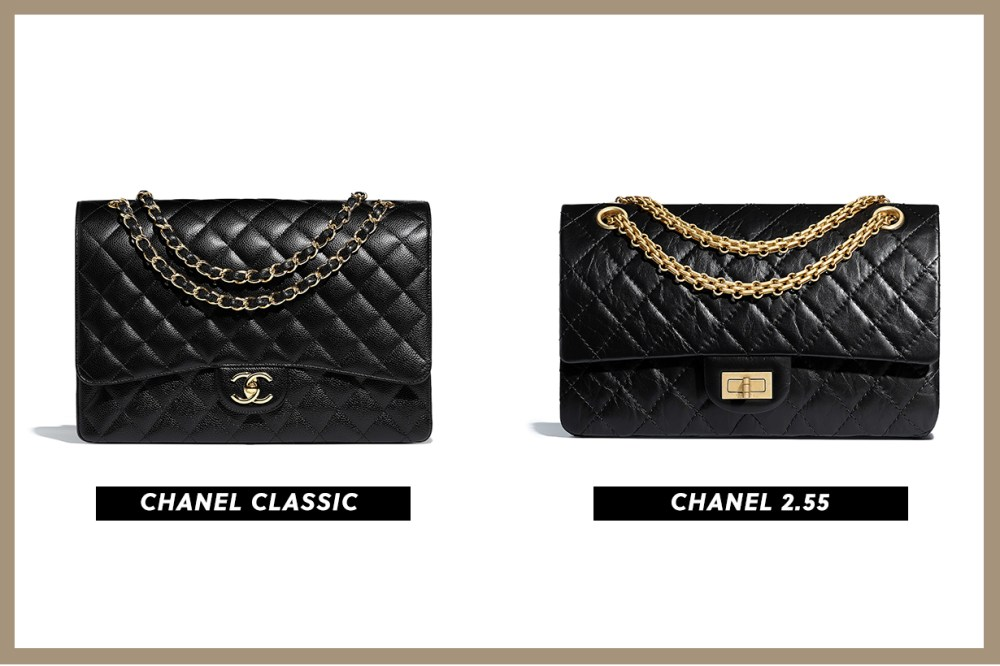 chanel classic flap 11.12 VS 2.55