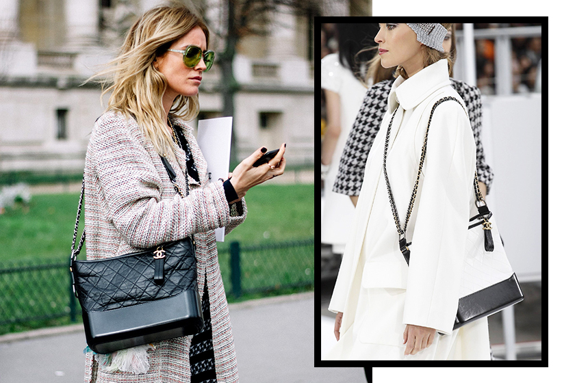 chanel gabrielle BAG street style